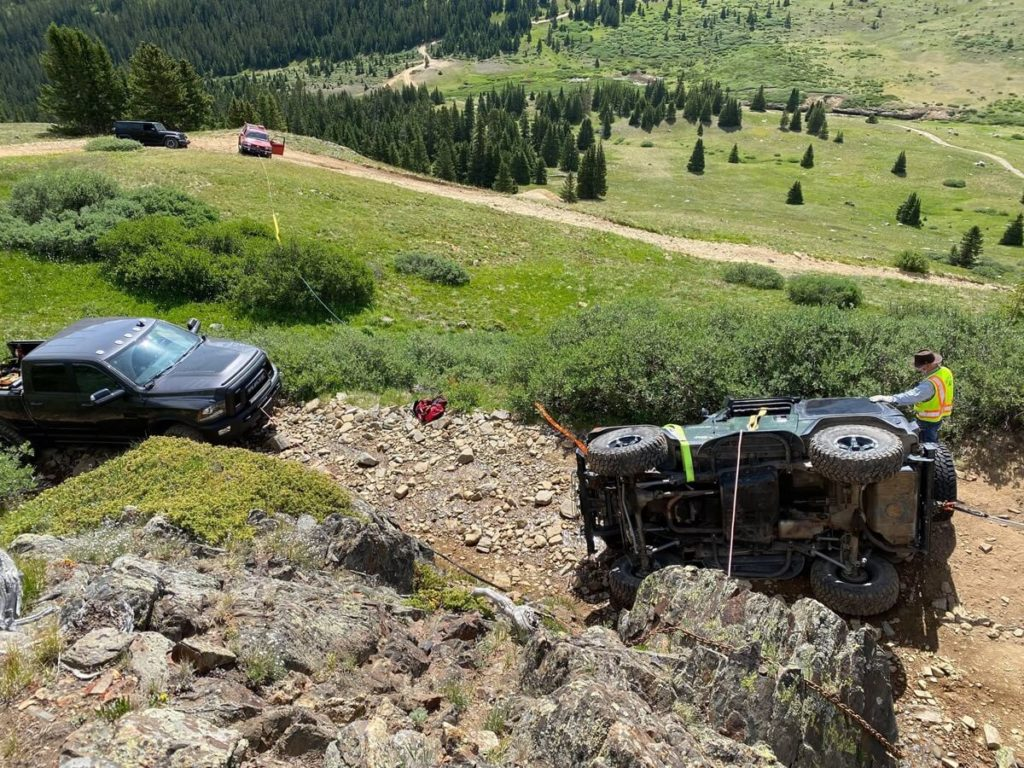 Radical Hill: Overturned TJ