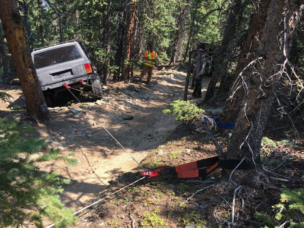 Barbour Fork Trail Recovery