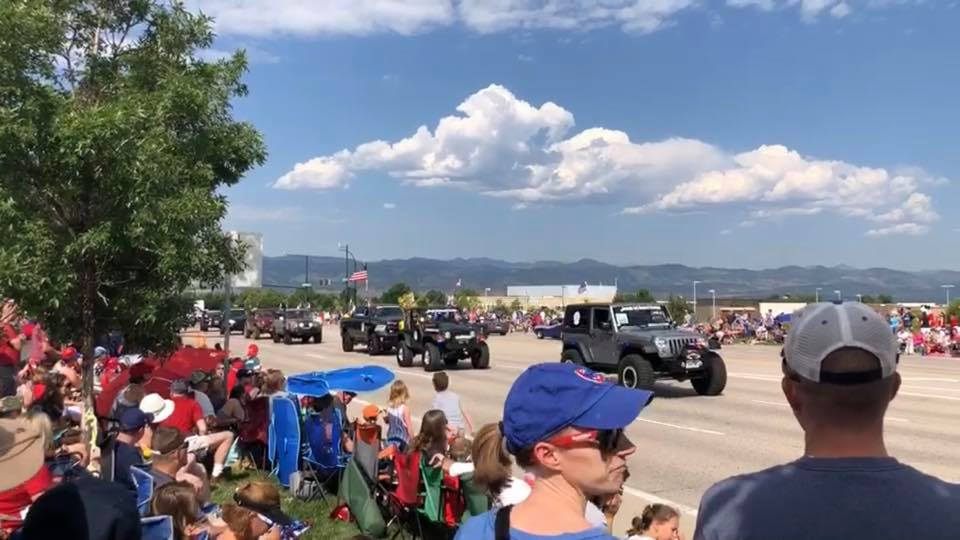 4x4 Rescue and Recovery Highlands Ranch Parade