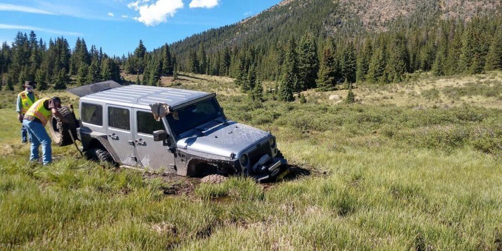 Frosty/Elk Parks: Off-Trail Jeep